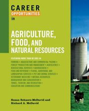Career Opportunities in Agriculture, Food, and Nat