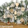 Weihnachten hängen Dekoration von Weihnachtsbaum Schneeflocke /Stern /Engel