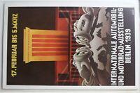 AK Berlin Automobil- u. Motorrad-Ausstellung 17.02.-07.-05.1939 gebraucht #PG839