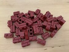 Lego 98283 - 1x2 Masonry Brick In Dark Red - NEW x50 - Brickwork city/marvel