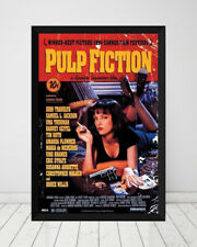 Pulp Fiction *Framed* Large Poster (90cm x 60cm) Ready to Hang