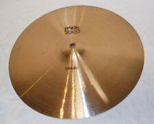 "Absolutely Superb Vintage 1979 Paiste 2002 Series 16"" Crash Cymbal 975 Grams"