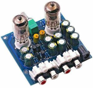 VALVE AMPLIFIER 6J1/2 Valve Tube stereo preamplifier Pre Amp KIT DIY  UK Seller
