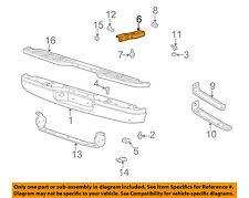 MAZDA OEM 98-07 B3000 Rear Bumper-Stay Bracket Support Left ZZM050290