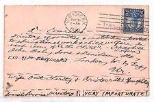 VV478 1930 Stati Uniti politico TRANSATLANTICO * spazzare via aristocratico emofilia * SALUTE