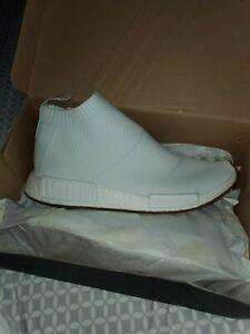 Adidas NMD CS1 City Sock PK Primeknit White Gum BA7208 Ultra Boost Size 10.5