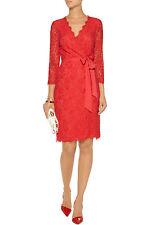 Diane von Furstenberg Lace 3/4 Sleeve Wrap Dresses | eBay