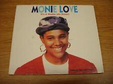 Monie Love - It's A Shame (My Sister) - CD Maxi Single - 1990 - Good Condition
