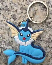 Pokemon Vaporeon Rubber Keychain 2.5 Inches US Seller