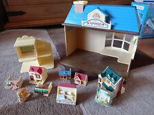 Juego de tienda de juguete con edificios de Juguete-Sylvanian Families