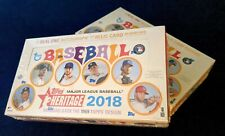 2018 Topps Heritage Factory Sealed Hobby Box (1 Auto or Relic)