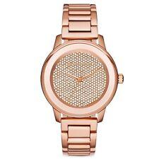 Micheal Kors Damen-Armbanduhr Edelstahl MK6210 Rose Gold Strass Neu
