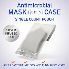 Antimicrobial Mask [just in] Case - Silver Infused Storage Pouch. Single Pouch