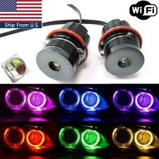 160W RGB Color Change Phone WIFI Angel Eyes Halo LED For BMW E39 E60 E63 E53