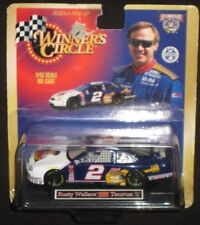 WINNERS CIRCLE- RUSTY WALLACE 1/43 SCALE NASCAR 1998, ELVIS PRESLEY ON HOOD