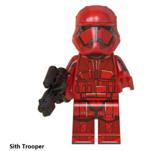 Sith Trooper Minifigure - Star Wars Lego Moc Minifigure Toys Gift