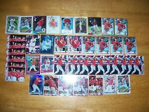 (43) SHOHEI OHTANI **Large 43 CARD LOT** Inserts, 2nd yr. cards, Parallels !!!!
