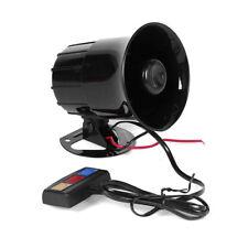 3 Sounds 30W 12V Car Loud Warning Alarm Police Fire Siren Horn Anti-Theft LN8C