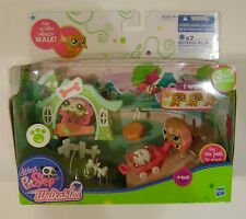 Littlest Pet Shop Walkables #2163 Dachshund Fence Wagon Bones More BNIB