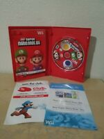 New Super Mario Bros. Wii (Nintendo Wii, 2009) - COMPLETE Tested/Works