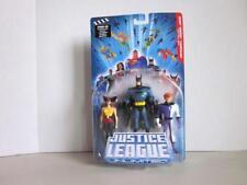 DC UNIVERSE Justice League JLU H2102 Hawkgirl Batman & Elongated Man Set NIP