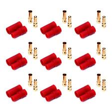 6 Stück HXT 3,5mm 3.5mm Stecker Buchse Goldstecker ESC Akku Lipo Verpolsicher RC