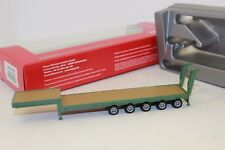 Herpa 075879 Flat Bed Trailer 5 Axle 1:87 New with original box H0