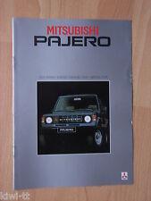 Mitsubishi Pajero 4WD 2300TD Canvas T.,Metal T.,Van, Pick-up, Prospekt, NL, 1.84