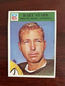 1966 Philadelphia Gum Bart Starr 88 Football Card