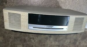 BOSE Wave Music System CD Player AM/FM Radio With Remote/Stand, Model #AWRCCJ