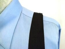 TRAFALGAR Men's Suspenders, Braces BLACK IVORY and BRASS gold tone hardware