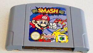 Super Smash Bros Nintendo 64 Excellent Condition AUSTRALIAN PAL FREE POST!!!!