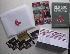 (3) 2014 Boston Red Sox Items: Video, Ticket Information, Pocket Schedules
