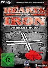HEARTS OF IRON 2 DARKEST HOUR * DEUTSCH * *Neuwertig