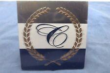 Cobalt Boats 450181 Metallic Emblem - Silver White & Blue (GLM)