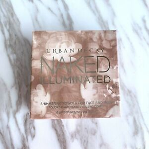 Urban Decay Naked Illuminated Shimmering Powder for Face & Body Luminous w/Brush