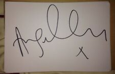 ANGELLICA BELL SIGNED 6X4 WHITE CARD TV AUTOGRAPH CELEBRITY MASTERCHEF WINNER