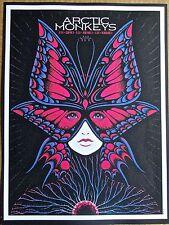 Arctic Monkeys  Mini Concert Poster Reprint for 2014 The Woodlands  14x10