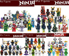16 Pcs Minifigures Ninjago lego MOC -Masters Spinjitzu Lloyd zane Kai Cole Jay