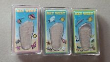 Key West Sand Magnet Fish Sea Shells Whale Dolphin Small Set of 3 Free Ship