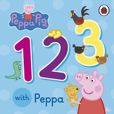 Peppa Pig Numbers 1 2 3 with Peppa Board Book by Ladybird – 5 Jun 2014 NEW