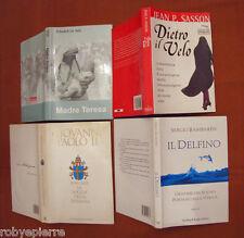 LOTTO 4 libri madre teresa il delfino dietro il velo varcare la soglia speranza