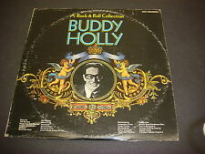 Buddy Holly, Rock & Roll Collection, 1980 MCA Records,LP, Vinyl, Double Album,