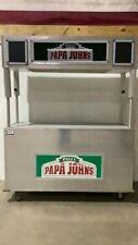 Concession Food Vending Stand Kiosk Vendor Cart Rolling Pizza Hot Dog Business