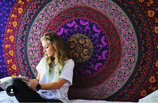 Indian Hippie Wall Hanging Mandala Tapestry Dorm Throw Ethnic Bedspread Decor