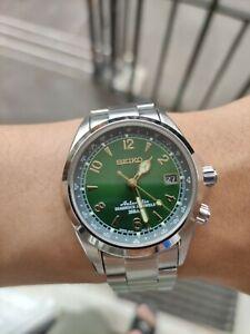 Discontinued/Rare Seiko Alpinist Green Men's Watch - SARB017