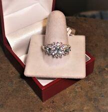 100% True Shiny Mystic Topaz Oval Gemstone Silver Plated Handmade Statement Ring Us-8.75 Jewelry & Watches
