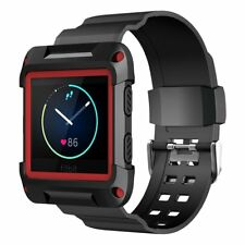 Simpeak Fitbit Blaze Rugged Protective Frame with Resilient Straps Sillicon
