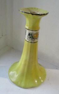 """Old antique china candlestick 6.5"""" tall #S3"""
