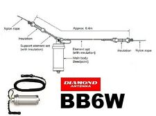 BB6W DIAMOND ANTENNE FILARE HF 2 - 30 MHZ 250 WATT lunghezza 6,4 metri